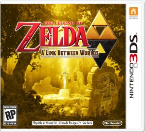 Jogo The Legend of Zelda: A Link Between Worlds - 3DS