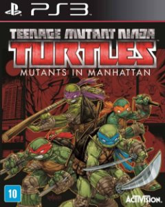 Jogo TMNT: Mutants in Manhattan - PS3