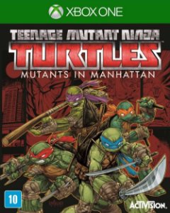 Jogo TMNT: Mutants in Manhattan - Xbox One