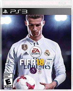 Jogo FIFA 18 - PS3
