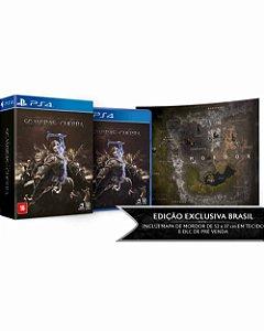 Jogo Terra-Média: Sombras da Guerra - Edição Limitada - PS4 (Outubro)