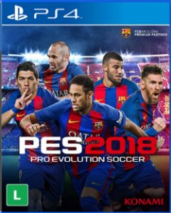 Jogo PES 2018 - PS4