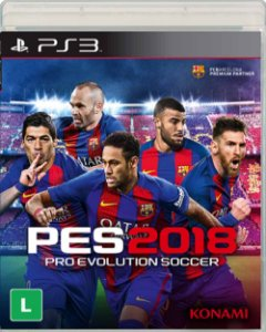 Jogo PES 2018 - PS3