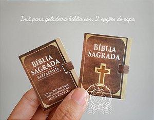 IMÃ DE GELADEIRA BÍBLIA