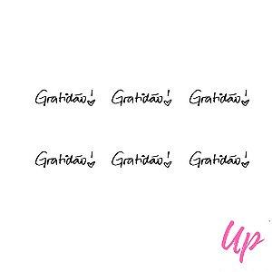 Pelicula de unhas frase gratidão
