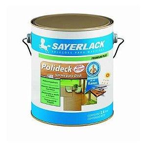 Verniz Polideck Natural Semi Brilho - 3,6 litros