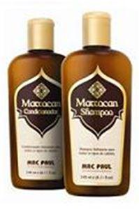 SHAMPOO E CONDICIONADOR MARROCAN OIL DE ARGAN MACPAUL