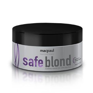 MÁSCARA SAFE BLOND MACPAUL