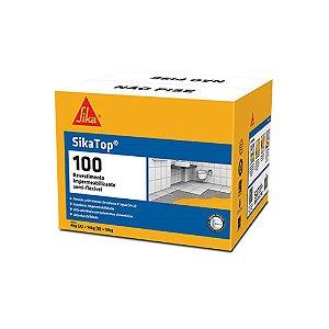 Impermeabilizante SikaTop 100 Branco Caixa 18KG
