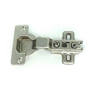 Dobradiça Pressão Basic Super Curva 35mm 10 GOLD SDB140010 10pçs
