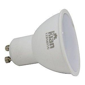 Lampada Dicroica 6W Led 6500K KIAN GU10