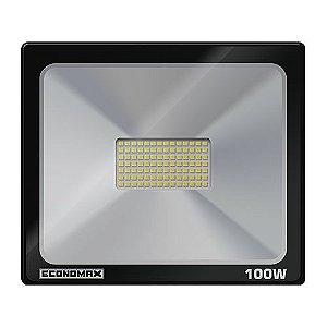 Refletor c/ Led ECONOMAX 100W 6500K