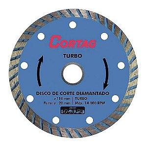 Disco Diamantado CORTAG Turbo