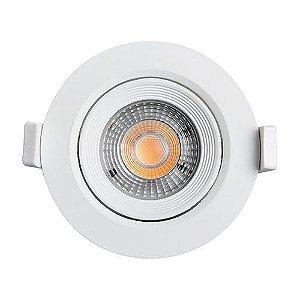 Spot Embutir 3W LED 3000K Redondo B&D