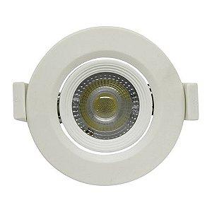 Spot Embutir 3W LED 6500K Redondo LEDBEE