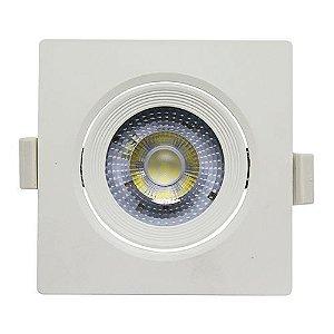Spot Embutir 7W LED 6500K Quadrado LEDBEE