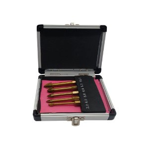Broca p/ Vidro Titanio CTPOHR Kit c/ 5 pç 502