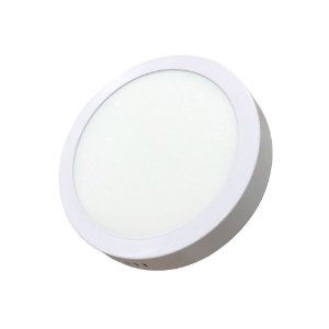 Luminaria Led Plafon PERKON Externo Redondo 12W 6000K 17CM
