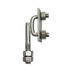 Para-raio Suporte p/ Fita Alumínio Vertical Rosca Mecanica