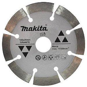Disco Diam. MAKITA Seco 105 mm Segm. Márm. Granito- D-44351