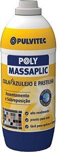 Cola Azulejo e Pastilhas Massaplic 1,5 Kg Pulvitec