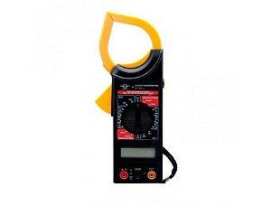Alicate Amperimetro Digital Multímetro 8559 Brasfort c/Estojo