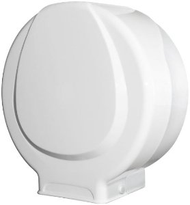 Dispenser p/ Papel Higienico ROLÃO - PLESTIN Branco