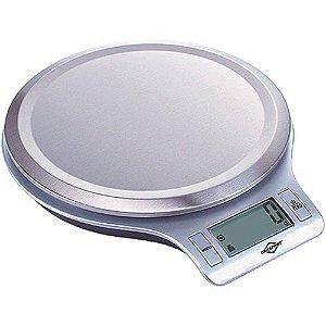 Balança Eletrônica Digital 5kg c/ Indicação de Volume BRASFORT 7550