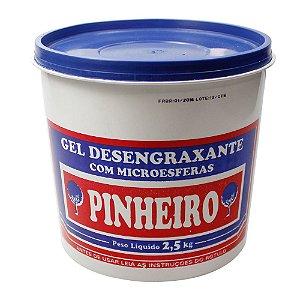Desengraxante Gel 2,5KG  c/ Microesfera Pinheiro