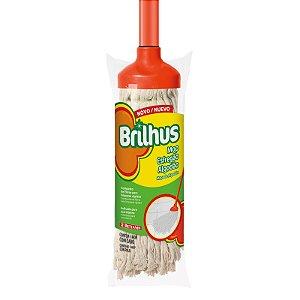 Mop Esfregão Algodão Brilhus c/cabo  BR2025