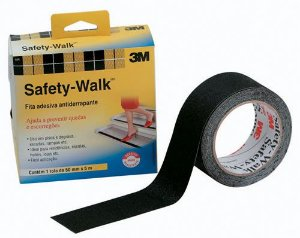 Fita Antiderrapante Preta 50mm x 5m Safety-Walk 3M