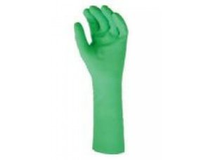 Luva Nitrílica Verde Par Tamanho M Mucambo