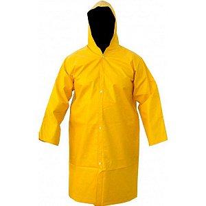 Capa Chuva Forrada Amarela Tamanho G