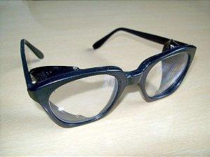 Óculos de Proteção c/ Lentes de Vidro Oftálmico Incolor Haste Total ARCO VERDE