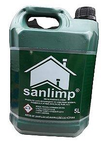 Limpa Pedra Cimento Rejunte Sanlimp 5 Litros