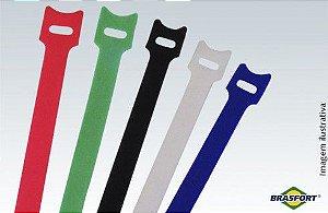 Abraçadeiras Auto Fixáveis Coloridas - 200 mm x 12 mm 5pç