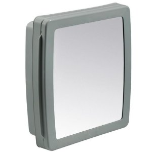 Armário Para Banheiro Herc Cinza 37x34 - 2651