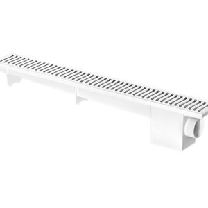 Ralo Linear Modulável Sifonado 50cm Branco - HERC