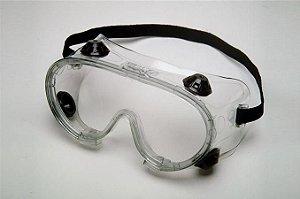 Oculos Incolor Ampla Visão C/ Valvula Rã - Kalipso