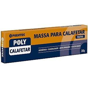 Massa p/ Calafetar Cinza Filetes 350gr Pulvitec