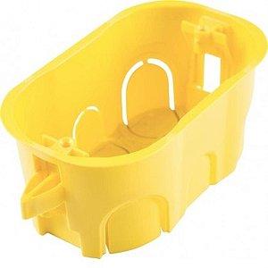 Caixinha De Luz 4x2 Tramontina Drywall Amarela - 10 peças