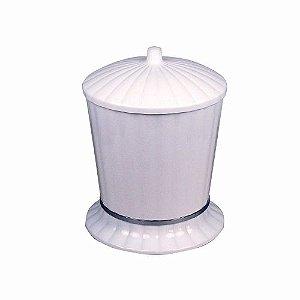Cesto Lixo Pl. Aquaplas 4l Branco Ou Beje