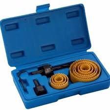 Serra Copo Aço Carbono Jogo 11 Pç 19 A 64mm Brasfort 8736