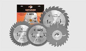 Disco De Serra Circular 200mm X 24dentes Videa F: 30 Saturno