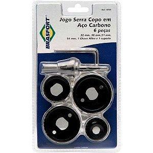 Serra Copo Em Aço Carbono Jogo 5 Peças Ref 8735 Brasfort