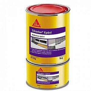 Cola Para Ferro Concreto Sikadur Epoxi 1Kg