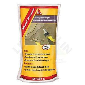 Aditivo Plastificante Sikanol Alvenaria Frasco 1 Litro Sika