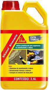 Aditivo Plastificante Sikanol Alvenaria 3,6lt  Sika