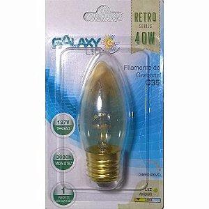 Lampada Filamento Carbono 40w 2400k Retro Vintage C53 127v