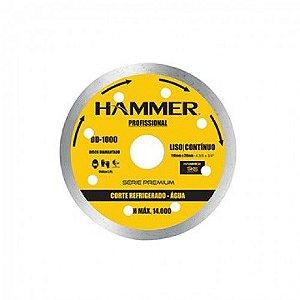 Disco Diamantado Hammer 110mm Liso Agua 1000